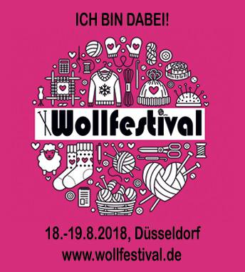 Wollfestival 2018 Button